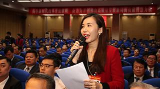 2月14日下午,威尼斯人棋牌游戏平台市政协十二届三次会议大会发言环节在市政协礼堂进行,现场政协委员踊跃发言,建言献策。
