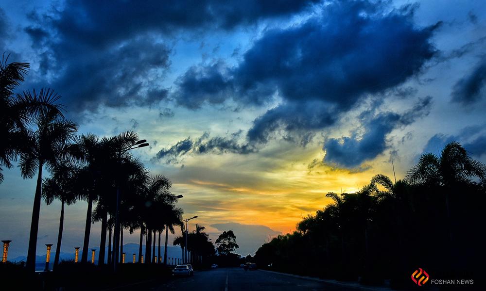 天空变幻莫测,每一帧美景都是大自然的馈赠。