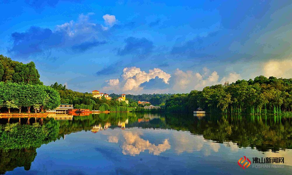 """""""国家森林城市""""是目前我国对一个城市在生态建设方面的最高评价。(三水森林公园 黄德荣摄影)"""