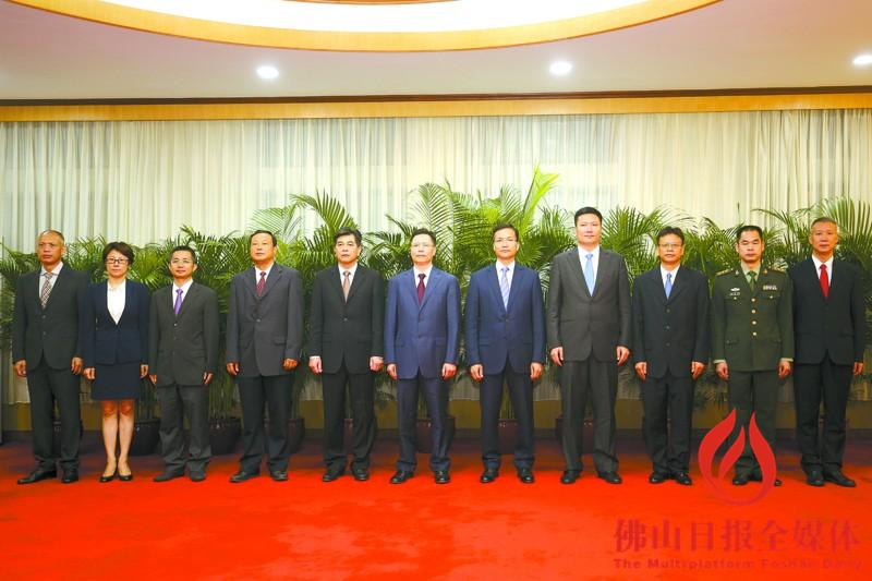 【党代会】黄福洪当选三水区委书记