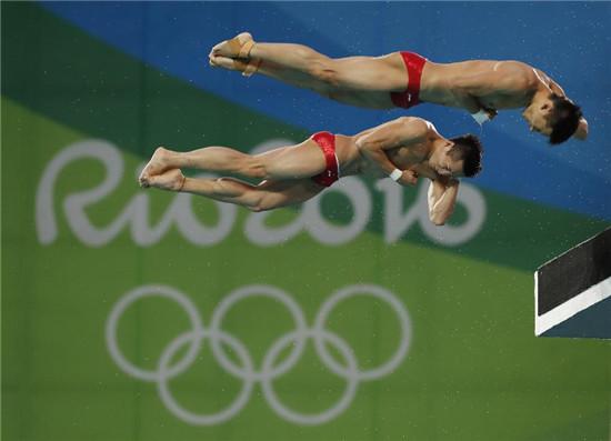 """相关报道    第一次参加奥运会的陈艾森兴奋地说:""""太爽了,真的太爽了图片"""