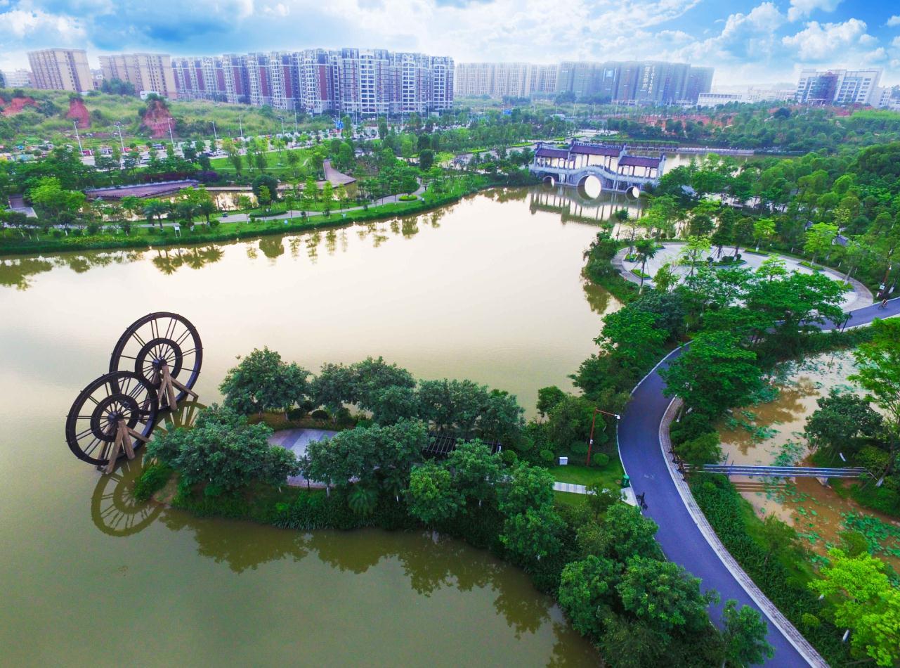 """""""森动""""罗村:让城市拥抱森林图片"""